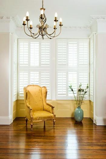 Tier on tier interior folding shutters