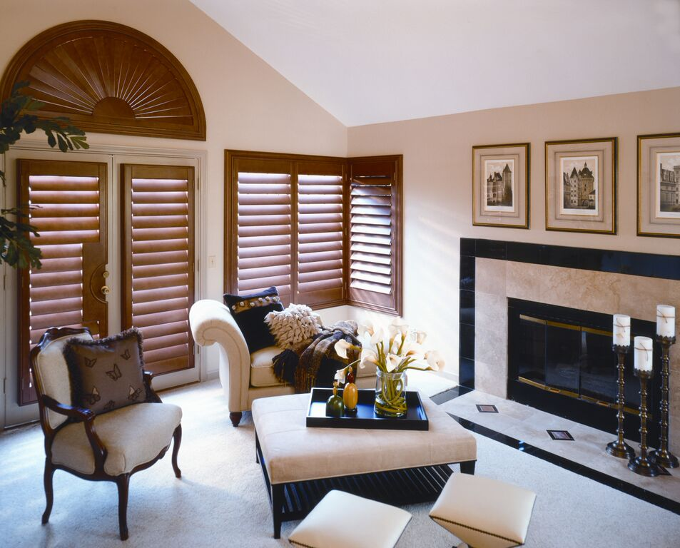 Interior wooden shutters Bournemouth Poole Weymouth