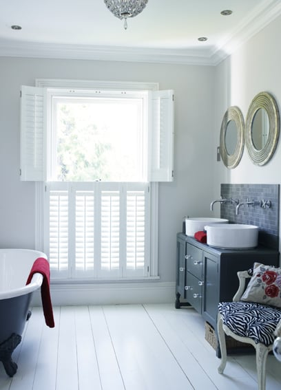 interior wooden shutters southampton