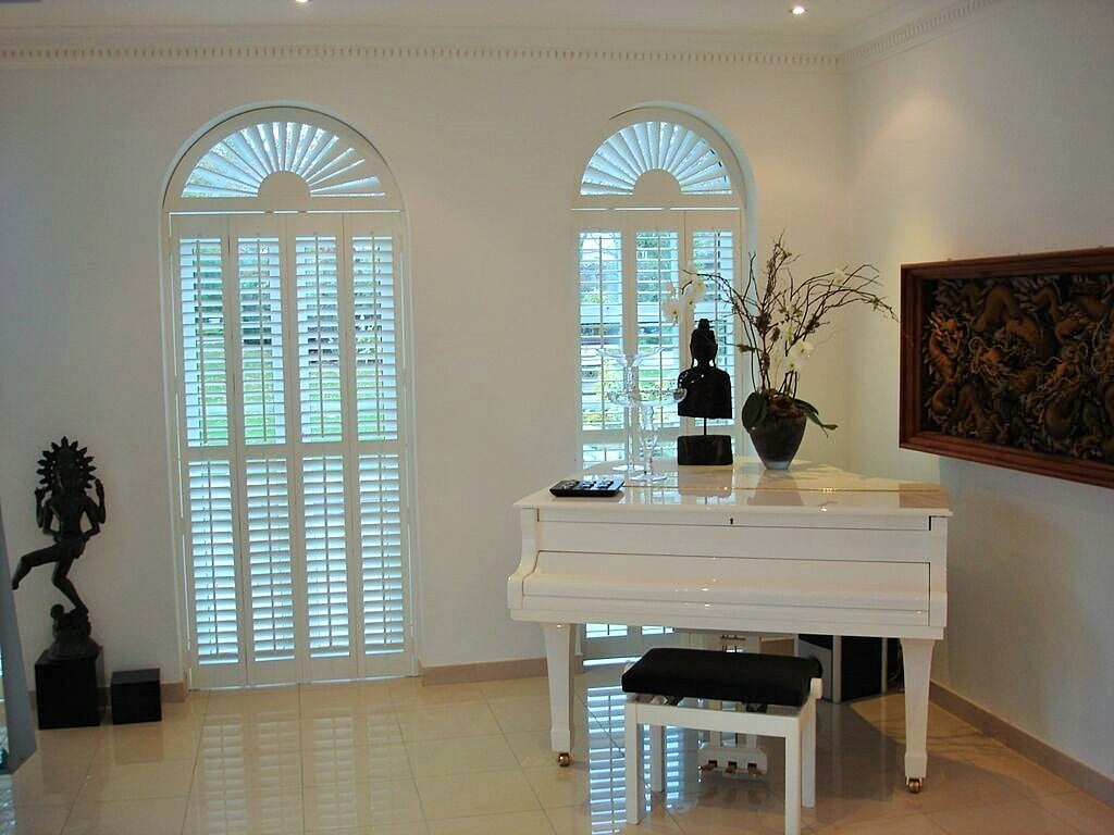 special shapes shutters