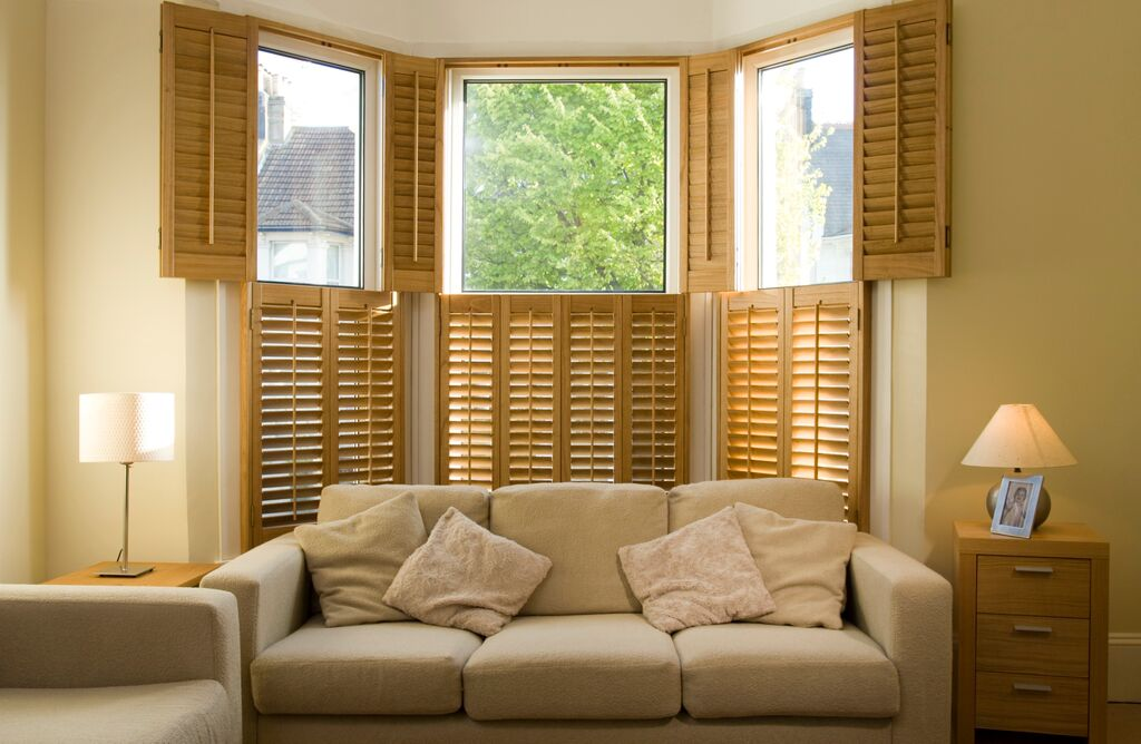 Bay window shutters Bournemouth