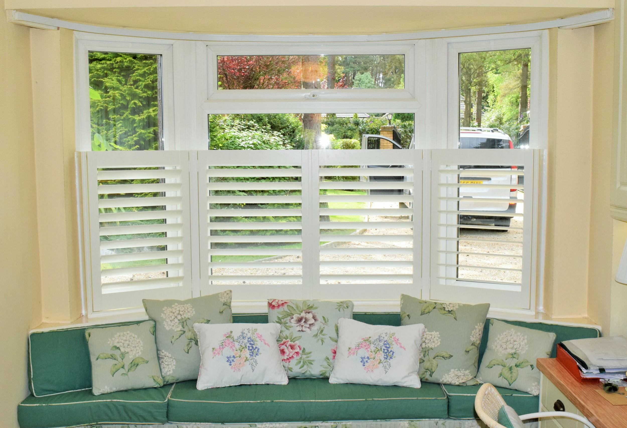 Window shutters Wimborne Bournemouth Dorset
