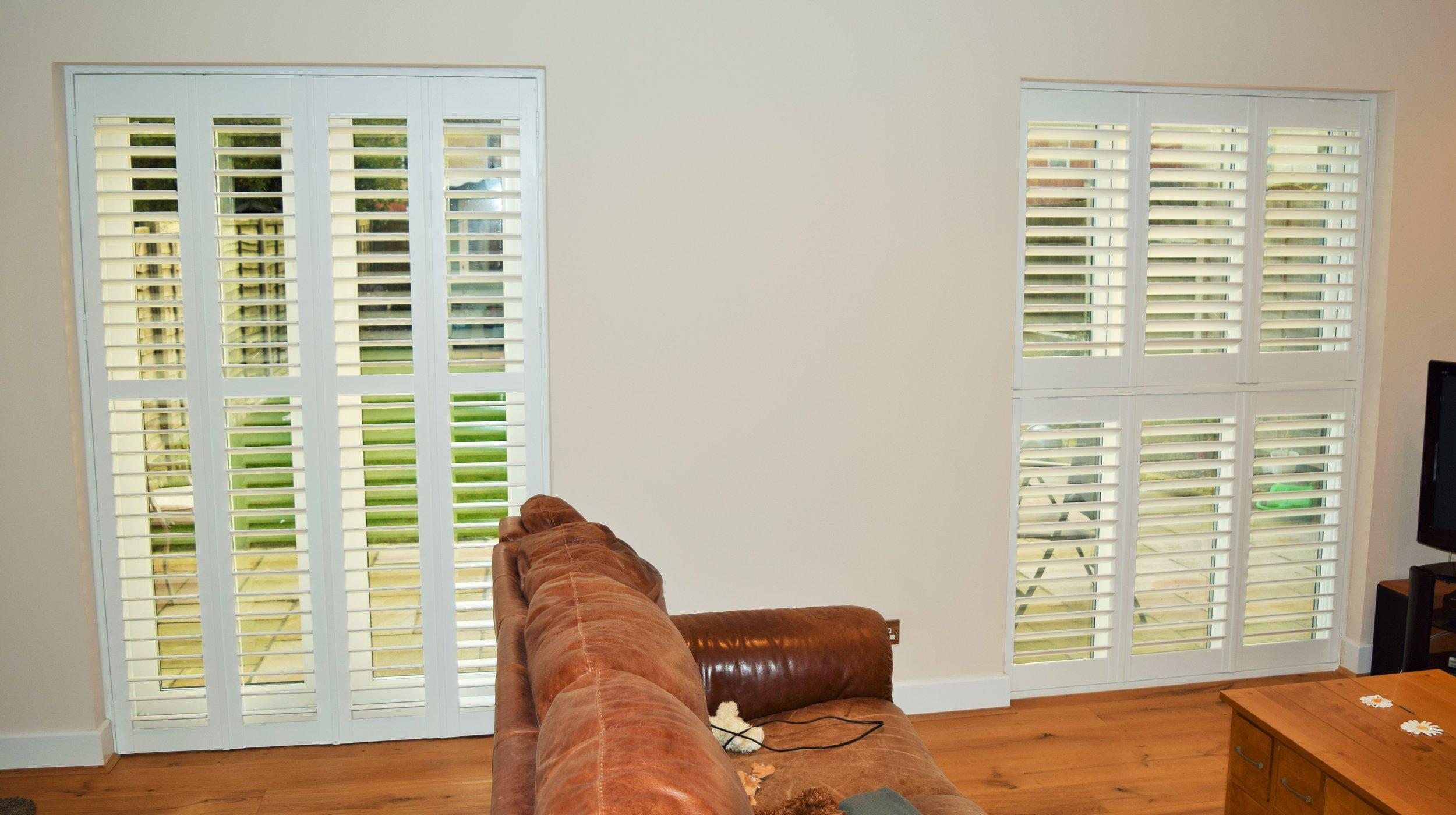 Patio door shutters Bournemouth