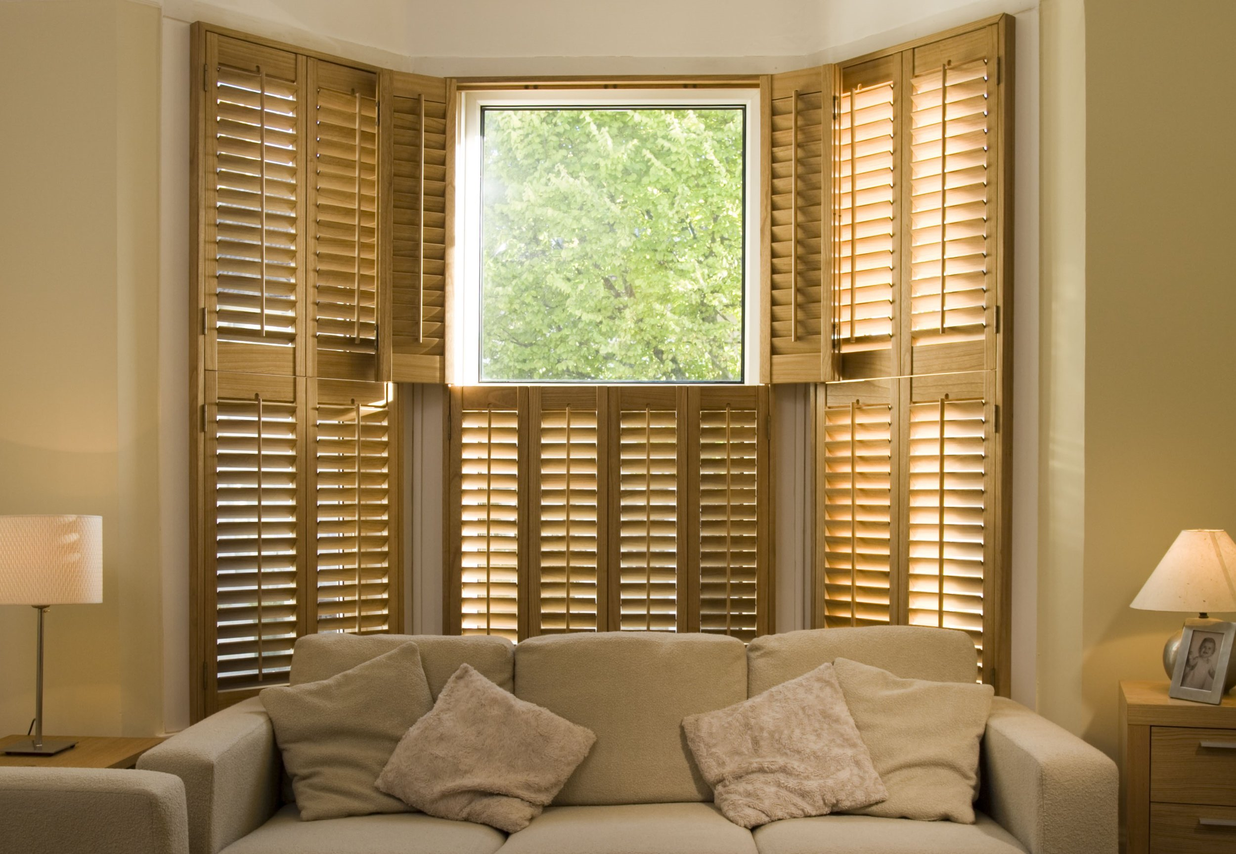 Wooden plantation shutters Wimborne