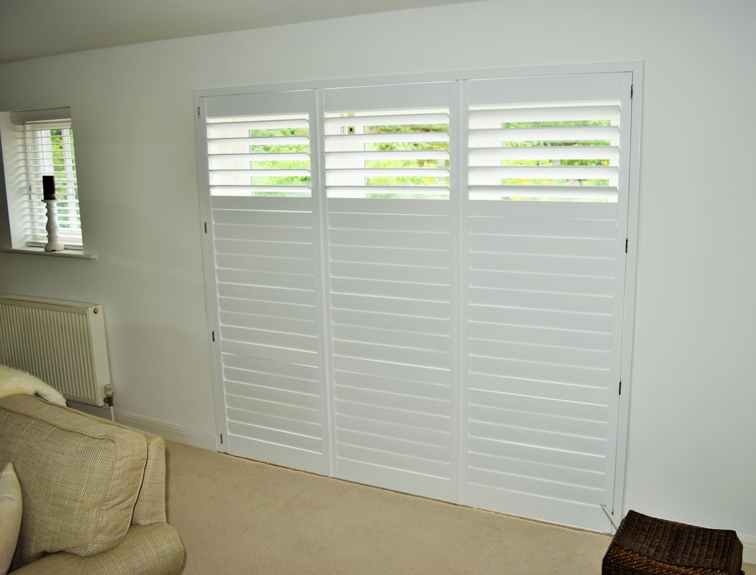 French door plantation shutters Poole Bournemouth