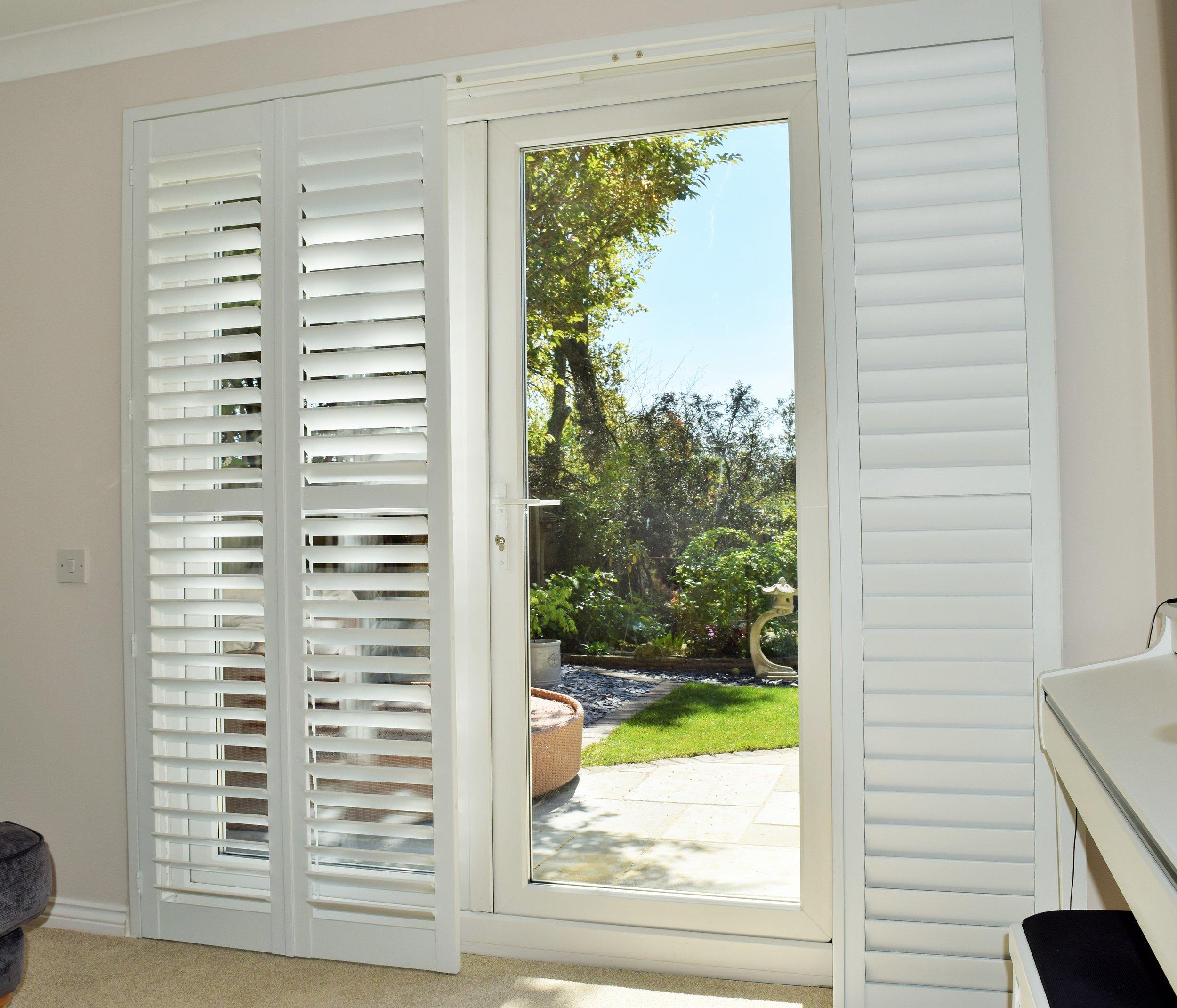 Patio door shutters Verwood Dorset.JPG