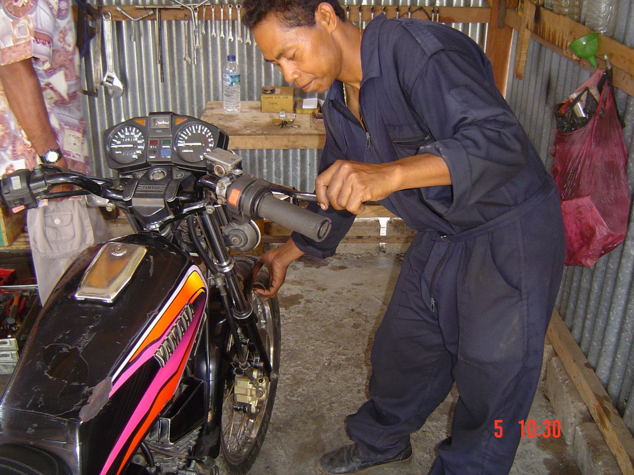motorcycle maintenance,- (2)