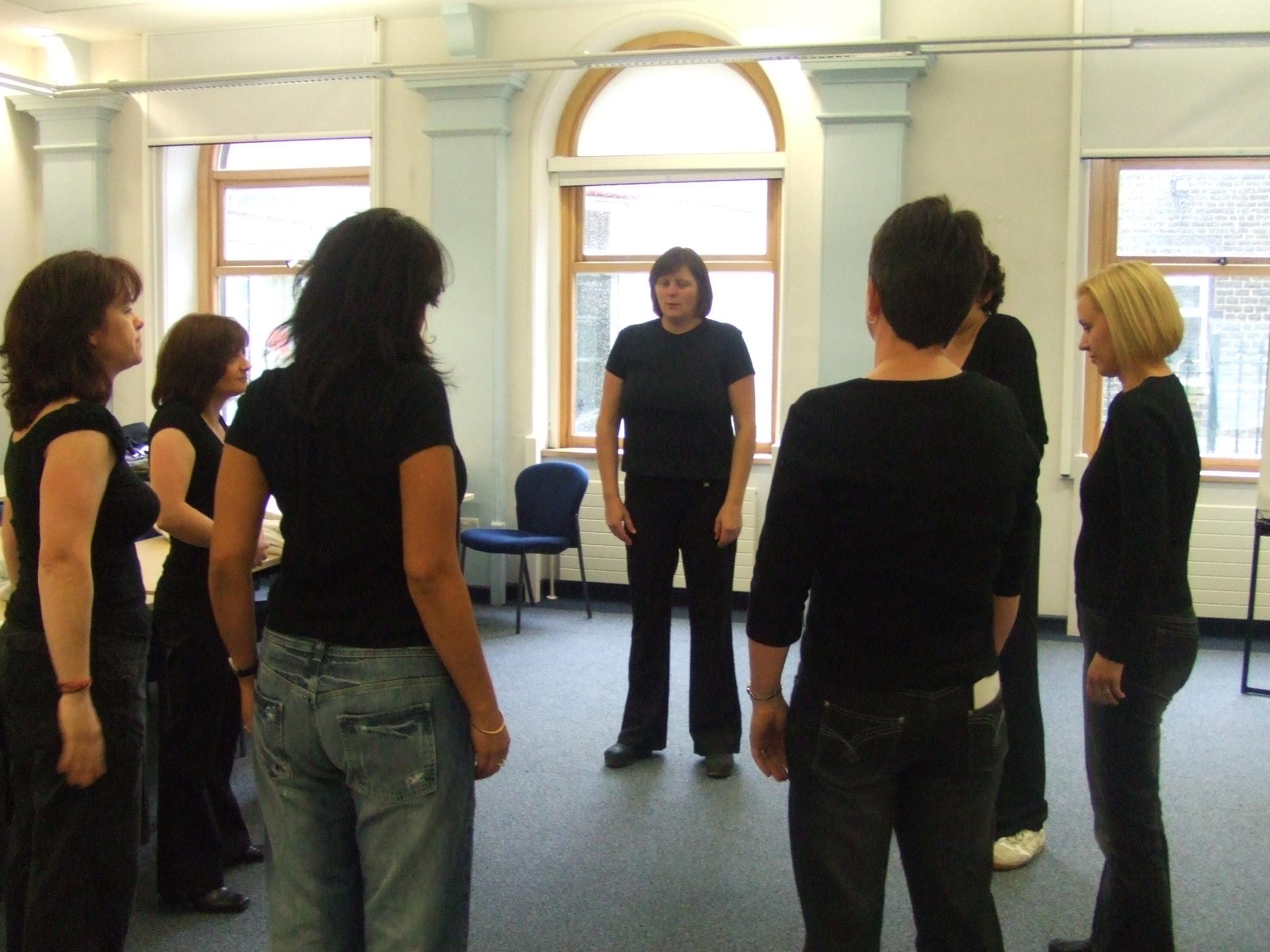pre-performance rehearsal