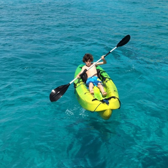child kayaking Malta sailing experience.jpg