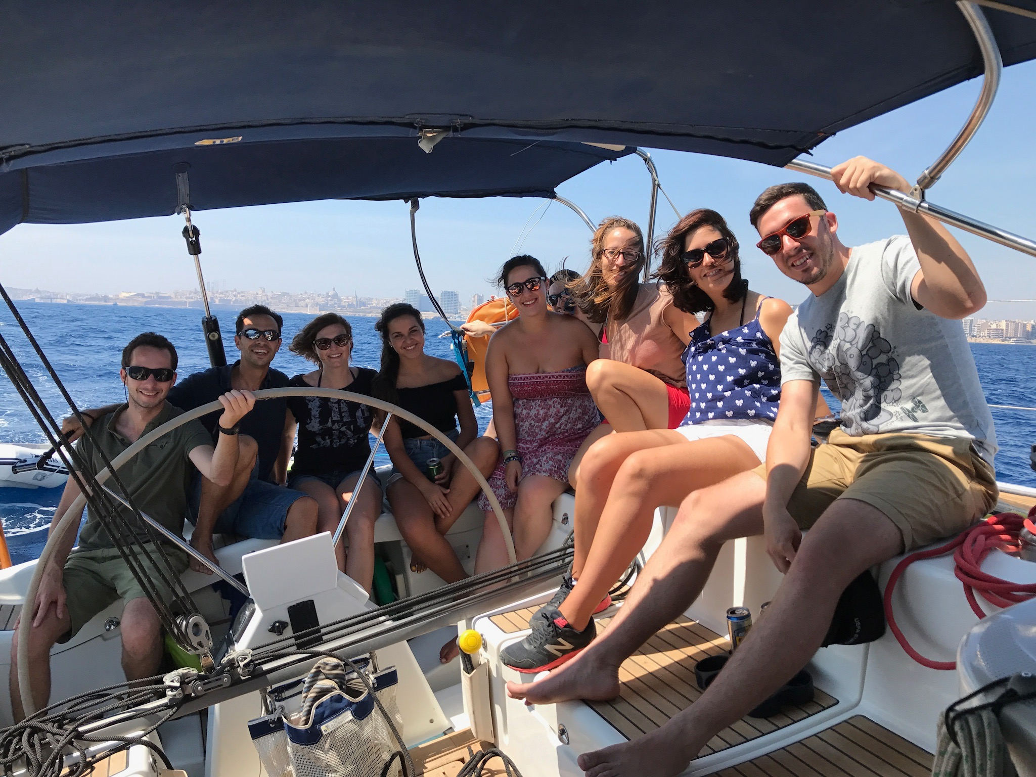 Group of friends Malta Sailing experiences.jpg