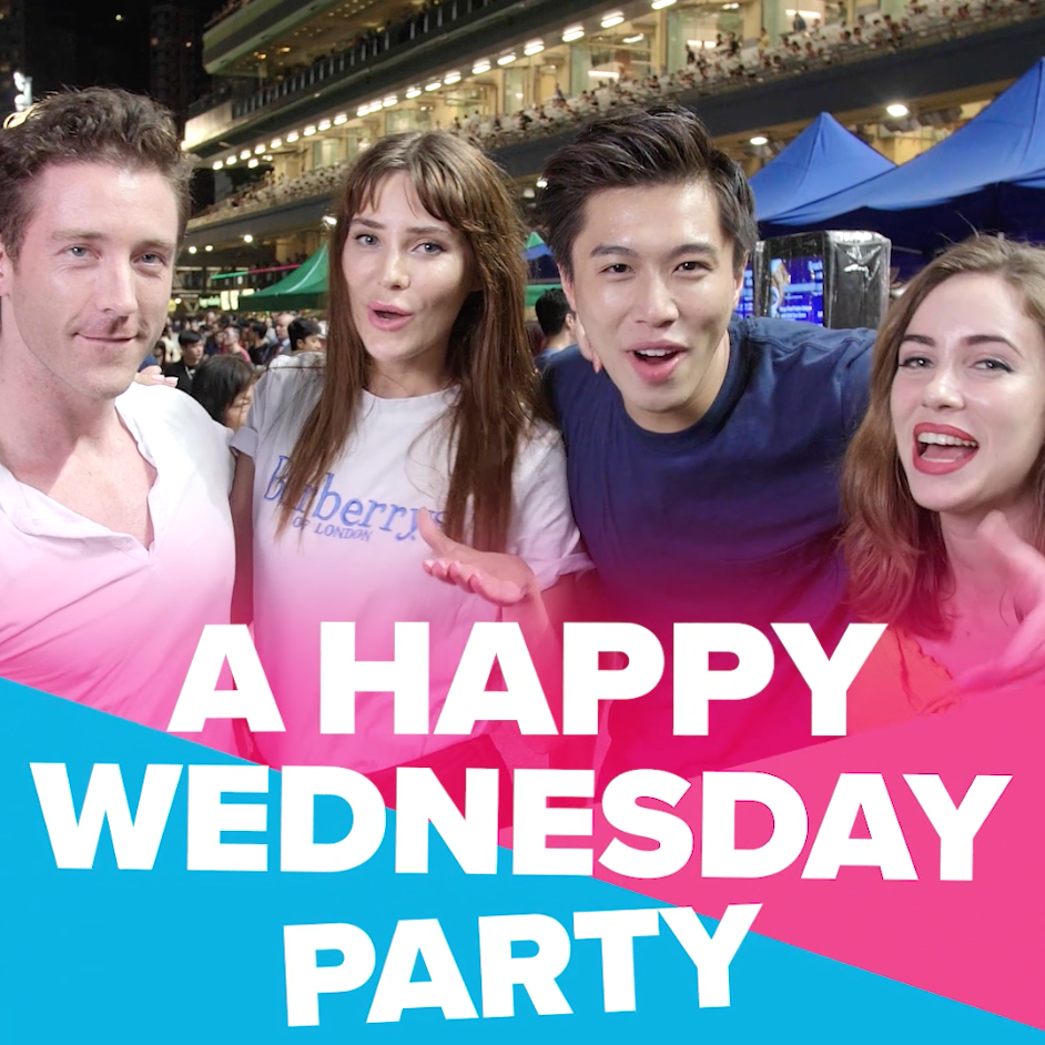 Happy Wednesday has 11 different themes throghout the year, from french night to Bollywood night. The challenge was to create a look and feel that could give a unified presence on social, represent the brand and encapsulate the wide variation of themes. We did this by being unrestricted in the colour palette and focusing on bold and simple typography and flat simple colours and graphics to tie the themes together. -