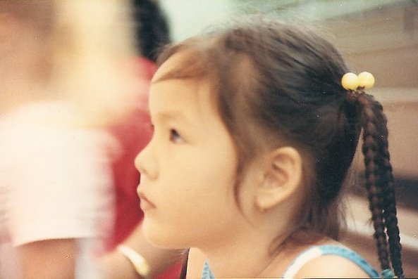 Little Jamie Lu, Clark Air Force Based, Phillipines - 1989