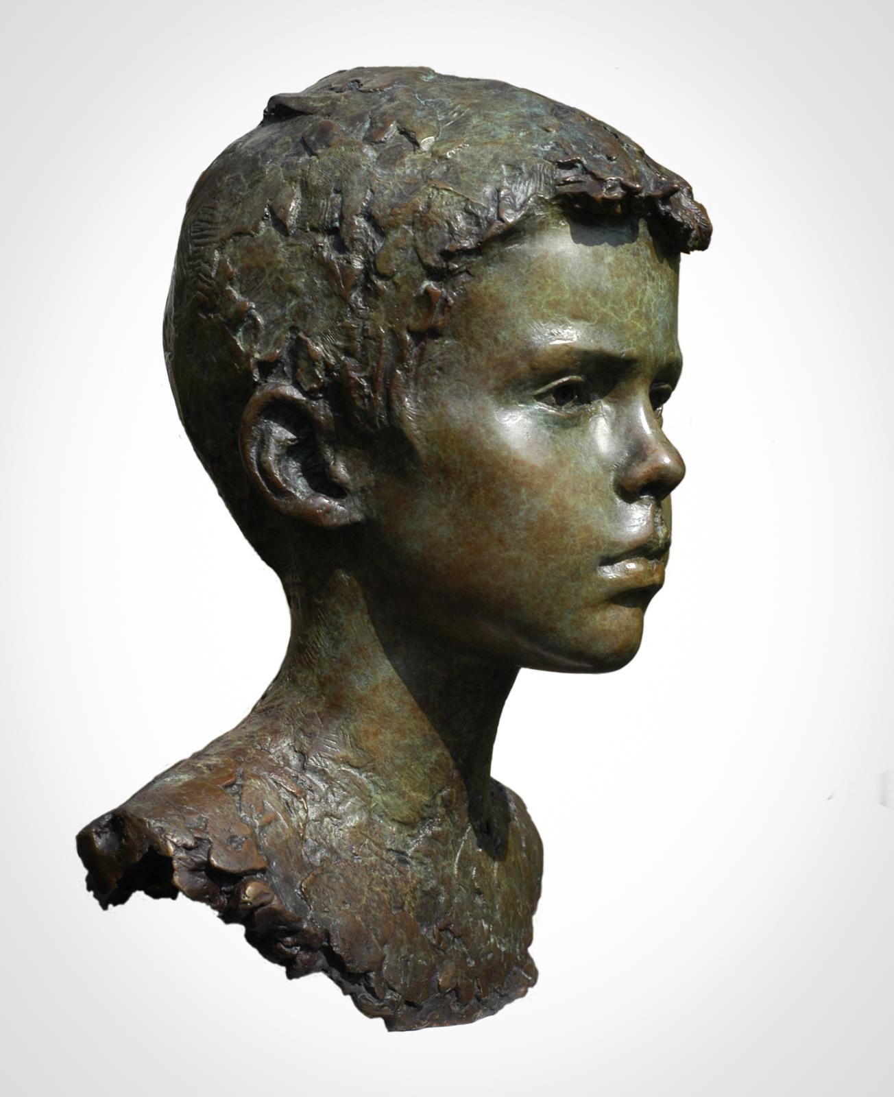Bronze portrait bust