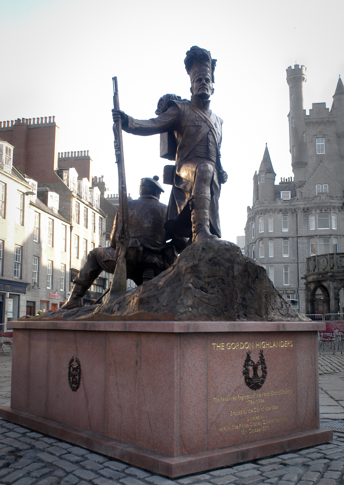 Gordon Highlanders statue commission, Aberdeen