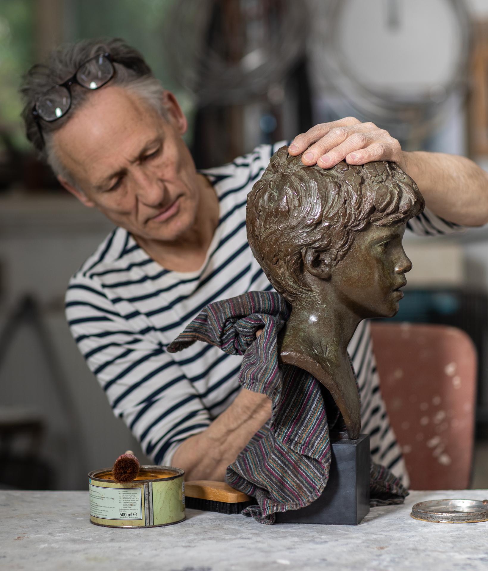 Portrait sculpture - boys