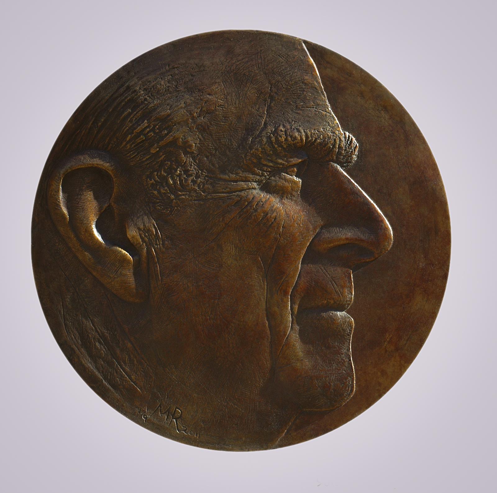 Prince Philip - relief portrait.
