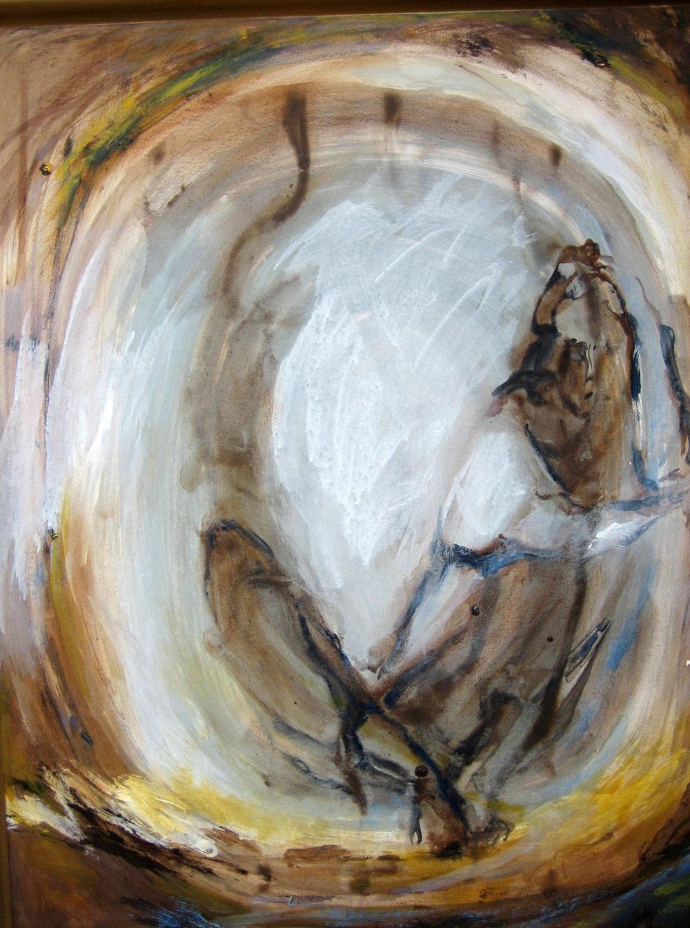 De neige de plume et de cendre, 88 X 68cm, 2001