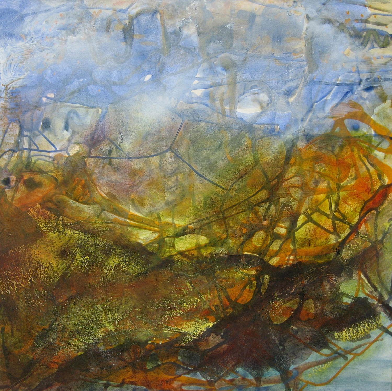 Paradis perdu, 65X 65cm, 2007