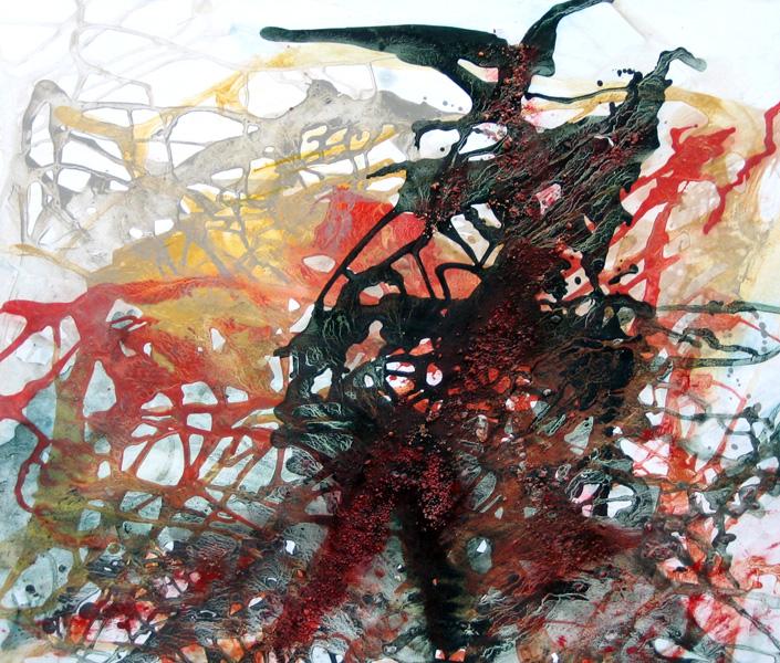 La fin du carnaval, 70 X 80cm, 2007