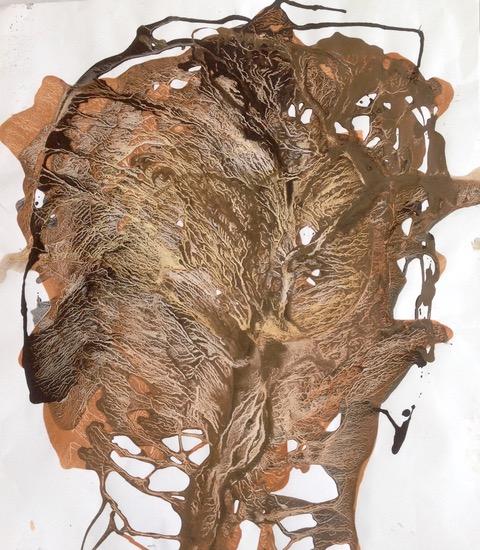 Arborescences 70/70 cm
