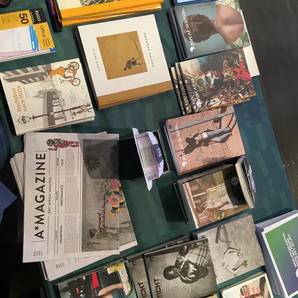 Stand des IAF Basel 2017 an der Kunstbuchmesse I Neve Read. Juni 2017