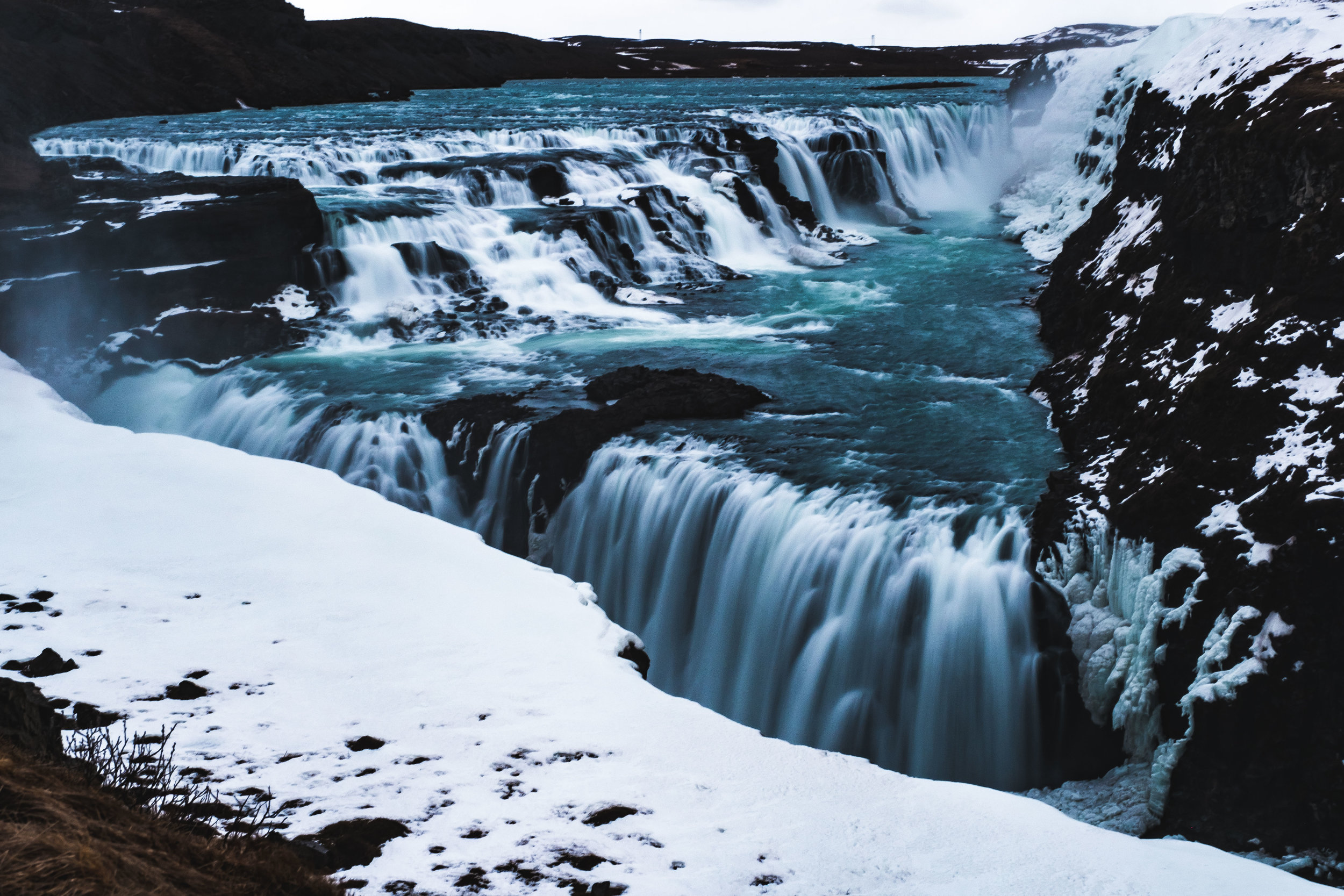 Gullfoss Waterfall. The last stop on the Golden Circle, but the first beautiful waterfall of many...