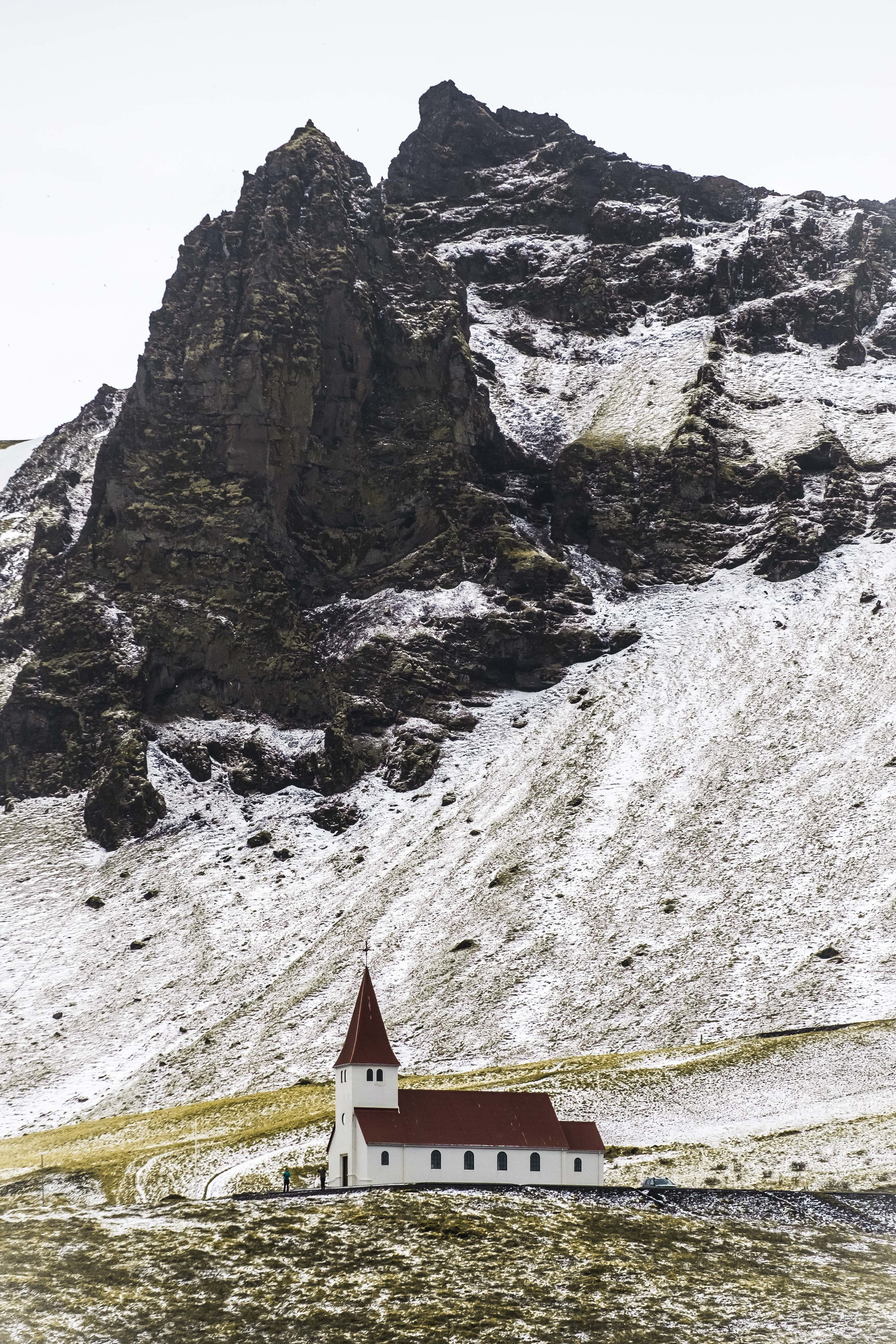 I'm not a religious man, but the churches in Iceland were cute.