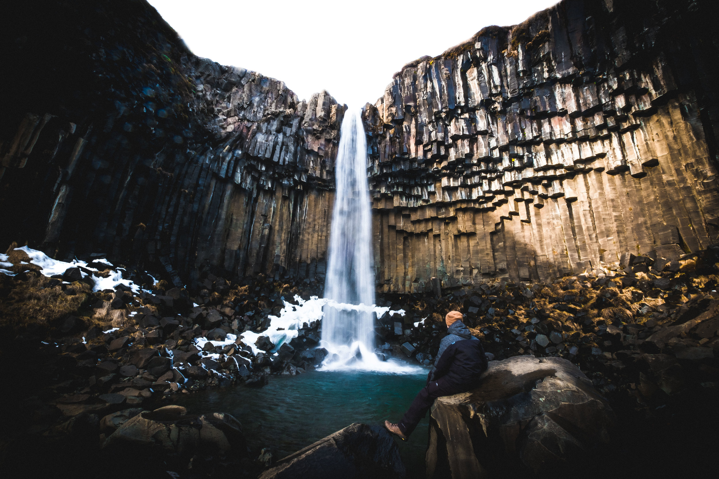 Svartifoss. Another day, another waterfall.