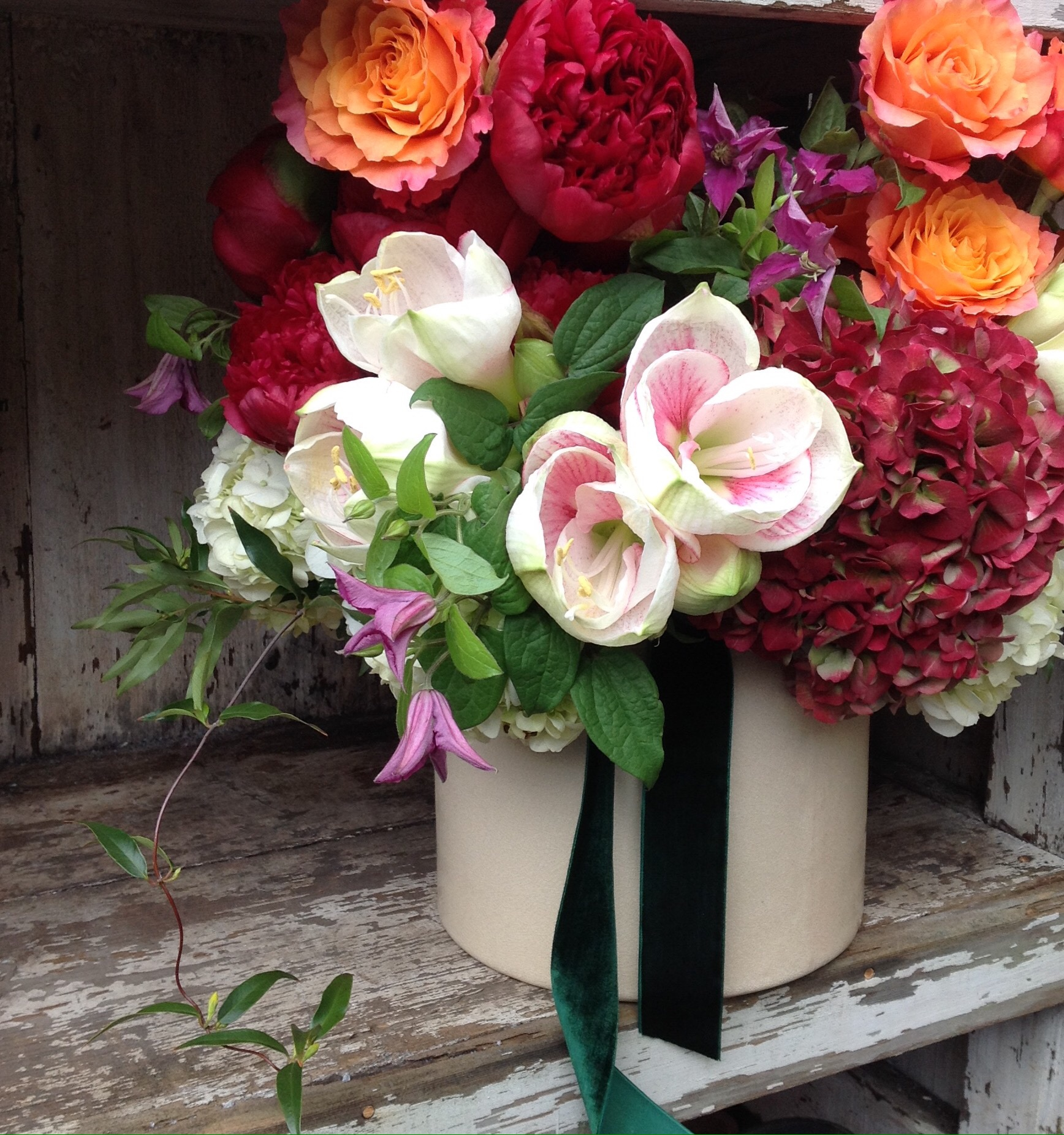 Mixed colorful arrangements starting at $135
