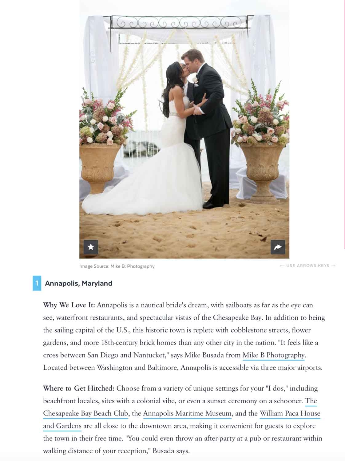 To read more about Under the Radar destination wedding locations, click on the image above!