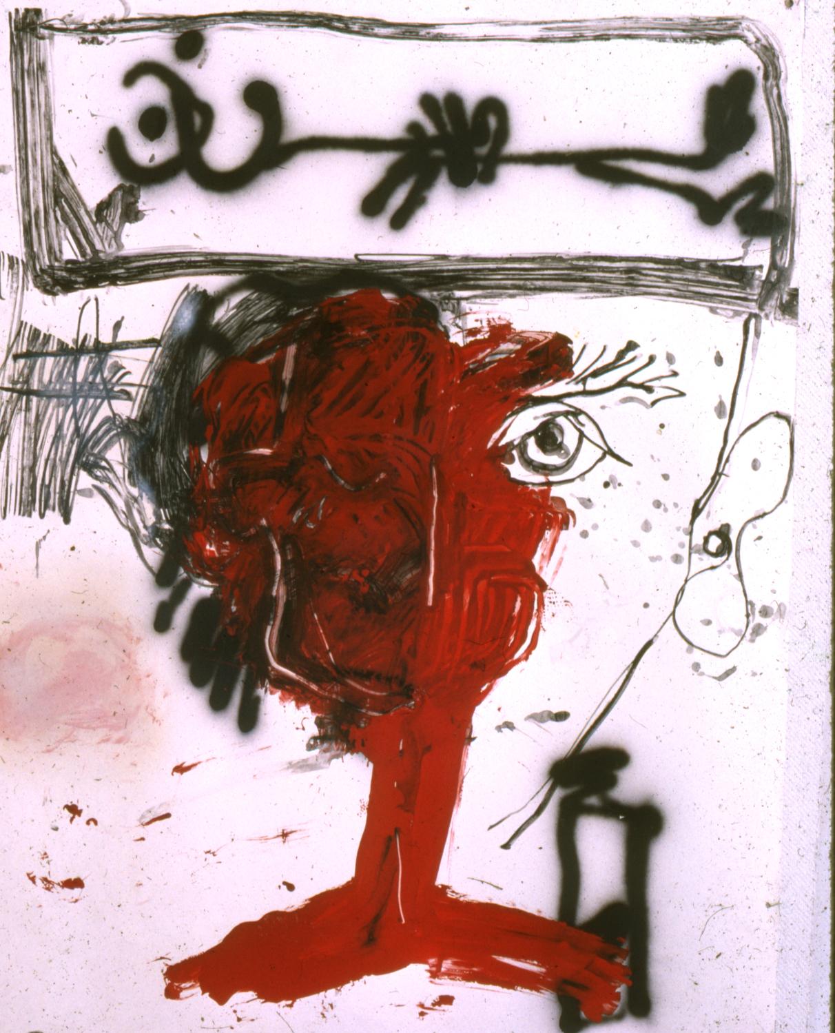 Self Portrait Birthday portrait, 9/11/81