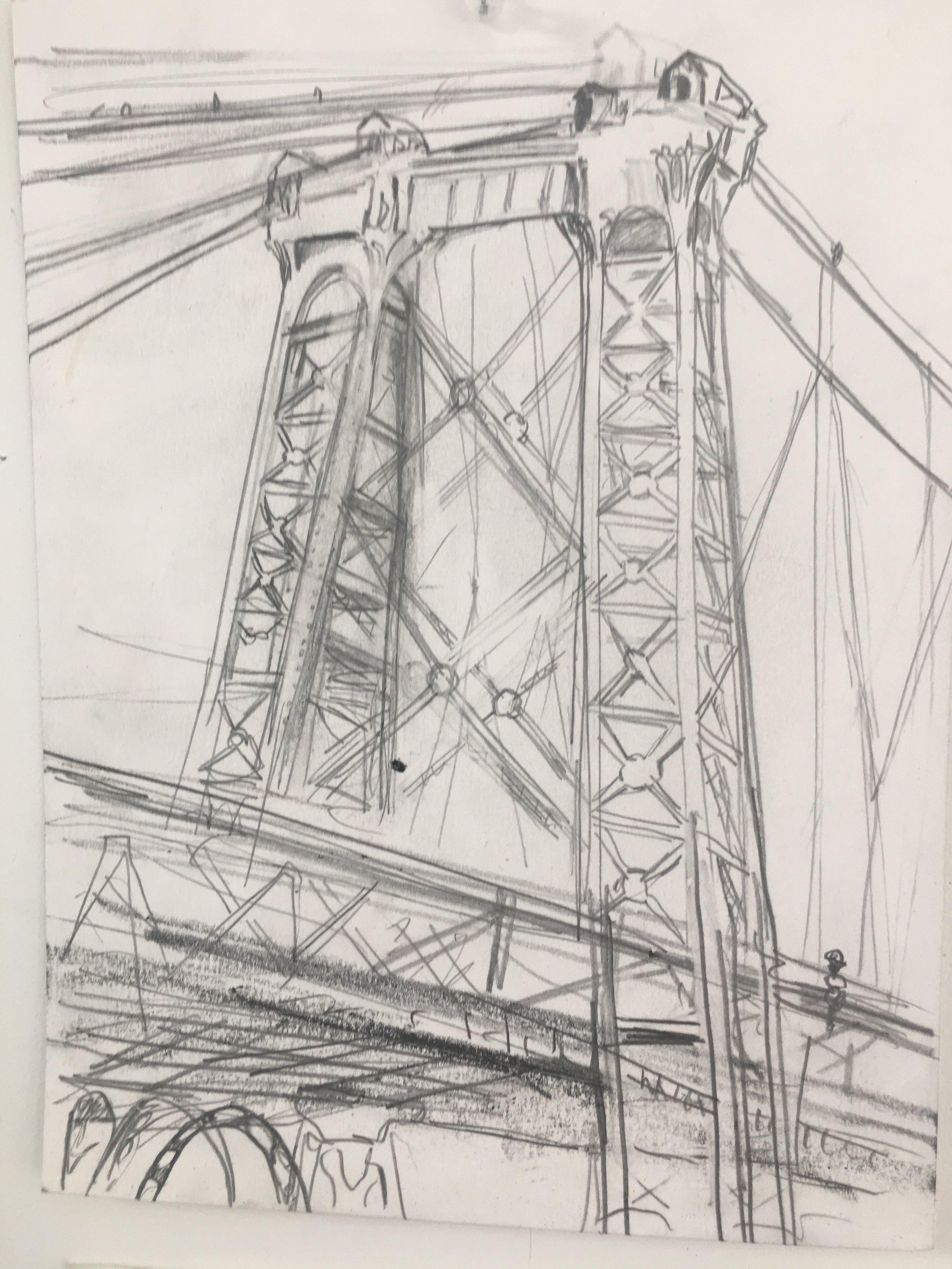 Willamsburgh Bridge detail