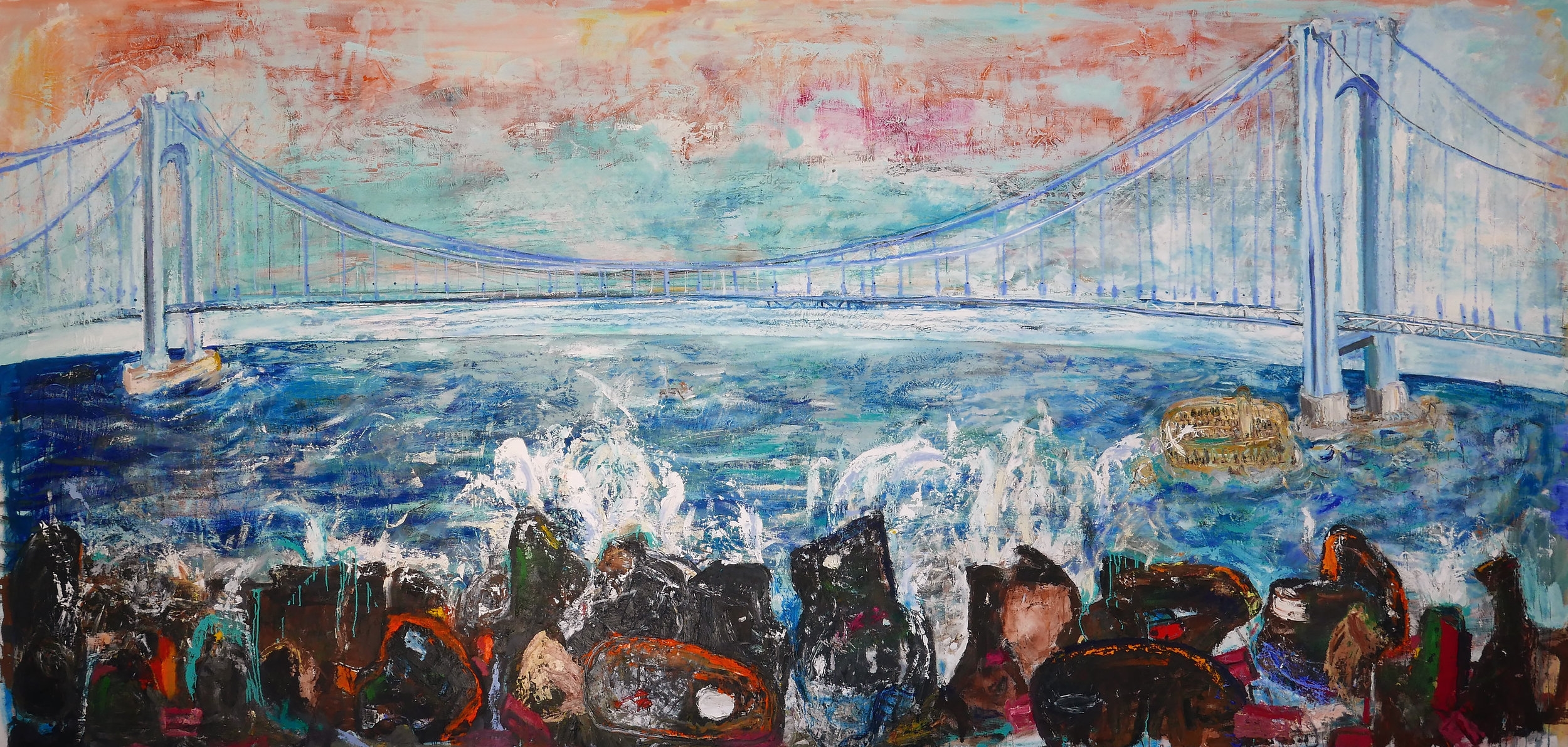 Entering the Narrows 2018( after Ensor)