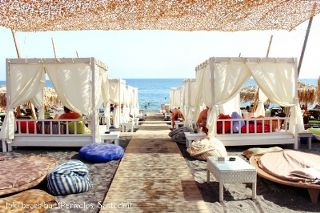 Jojo's beach cabana's are made of dreams