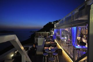 Crystal Bar's amazing balcony and views