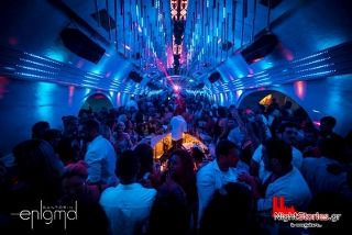 If you want to experience clubbing in a cave house then Enigma Club is your place