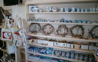 In Faros Market, you will also find a few Santorini souvenirs…