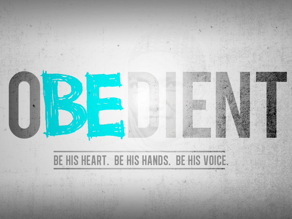 Be the heart, hands and voice of Jesus.