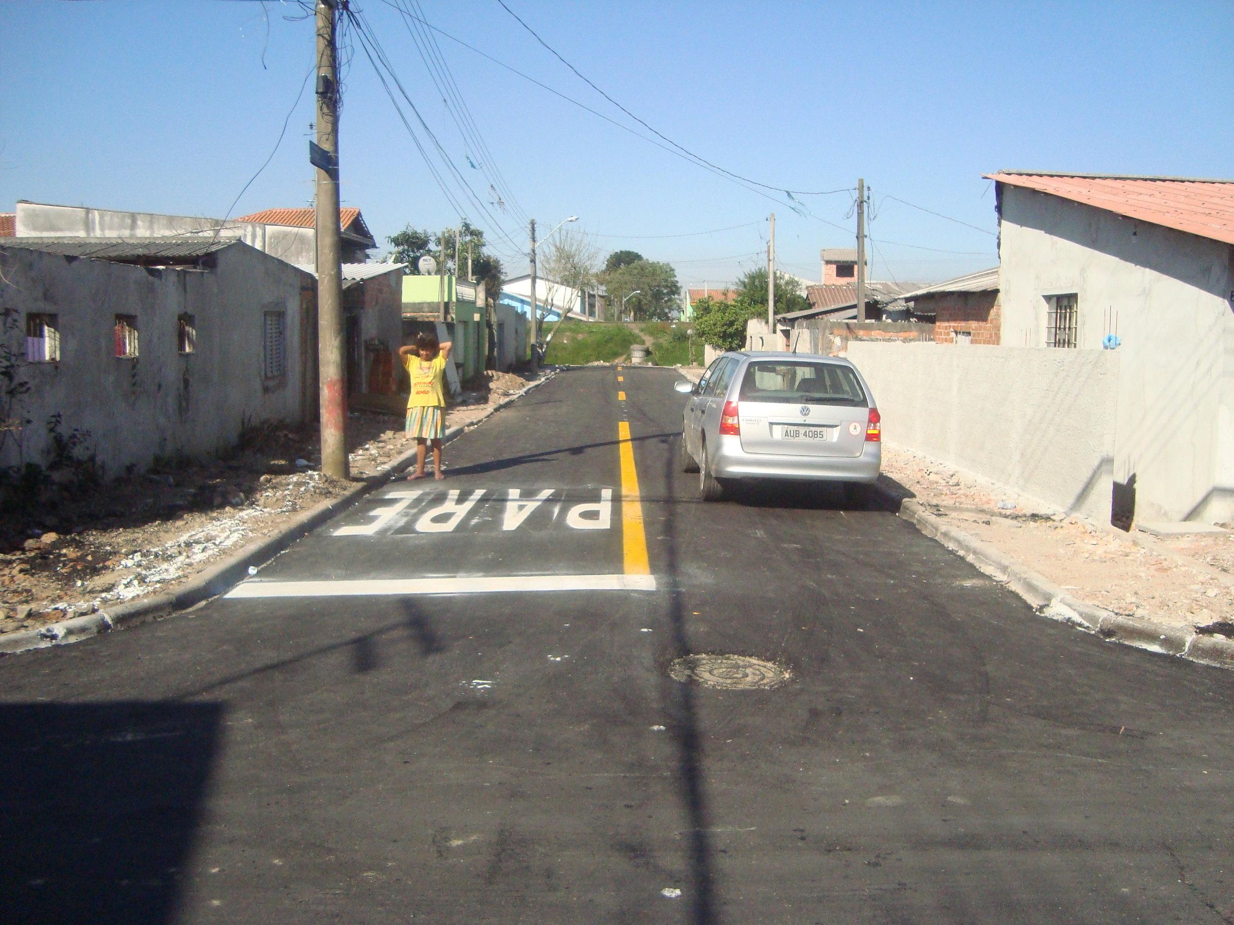 Rua Gov. Algacir Guimarães, São Domingos - DEPOIS