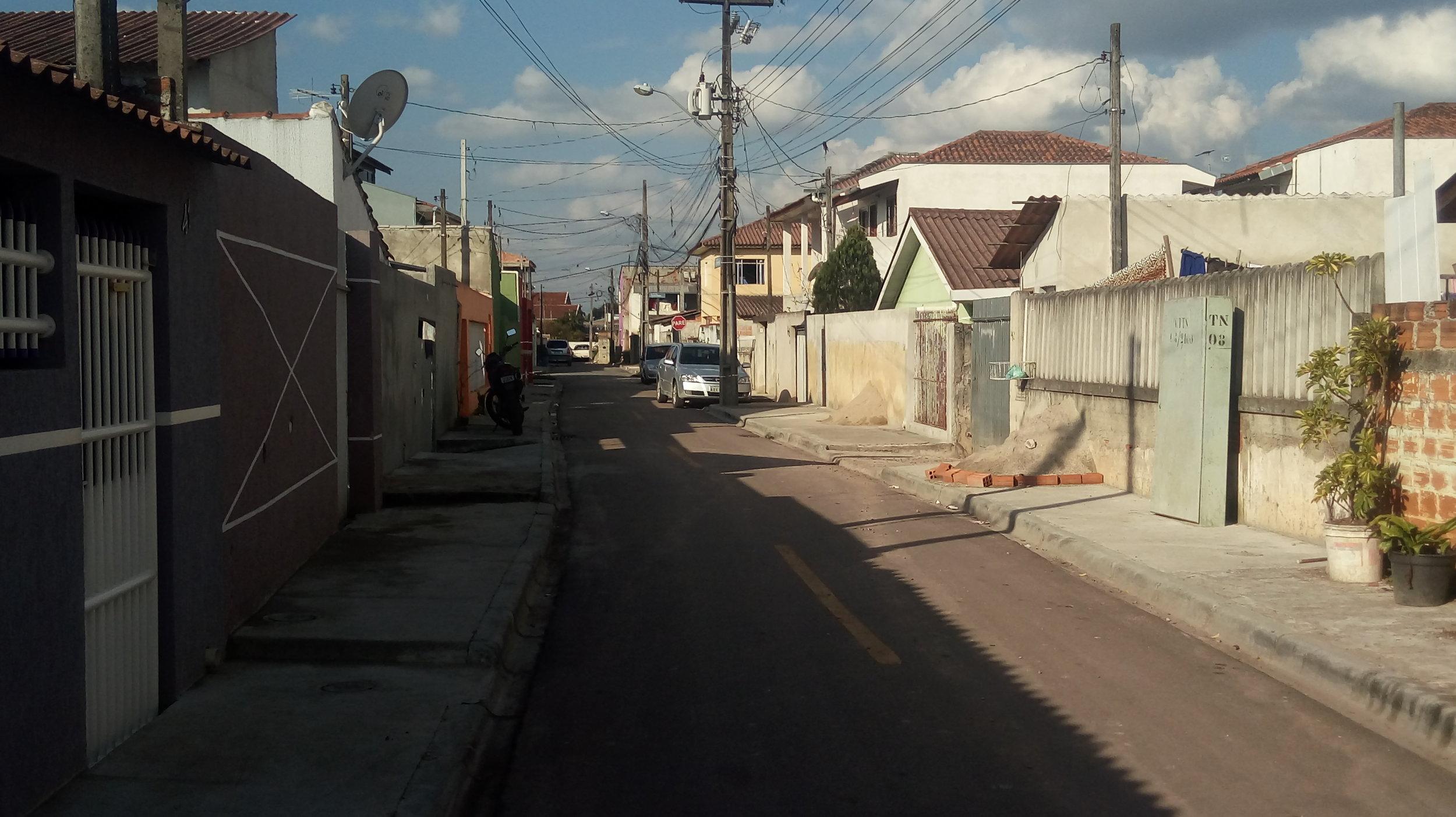 Rua Jornalista Luiz Carlos Cavalcante, São João Del'Rey - DEPOIS