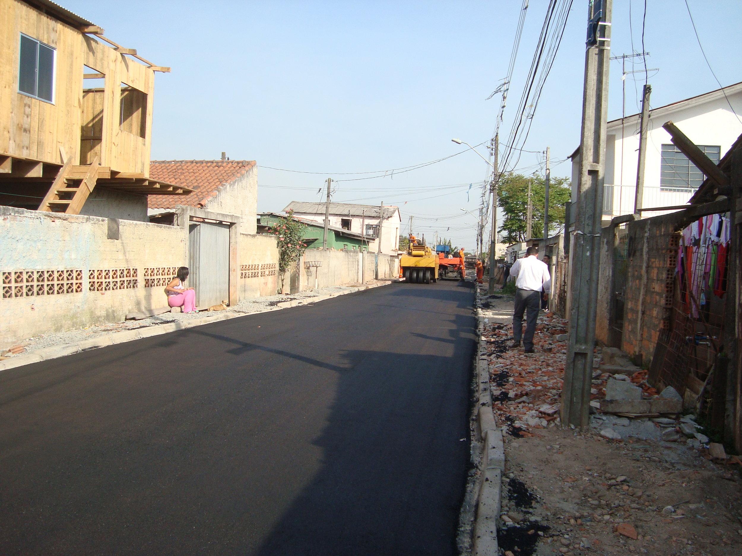 Rua Leodoro Ferreira de Castro - DEPOIS
