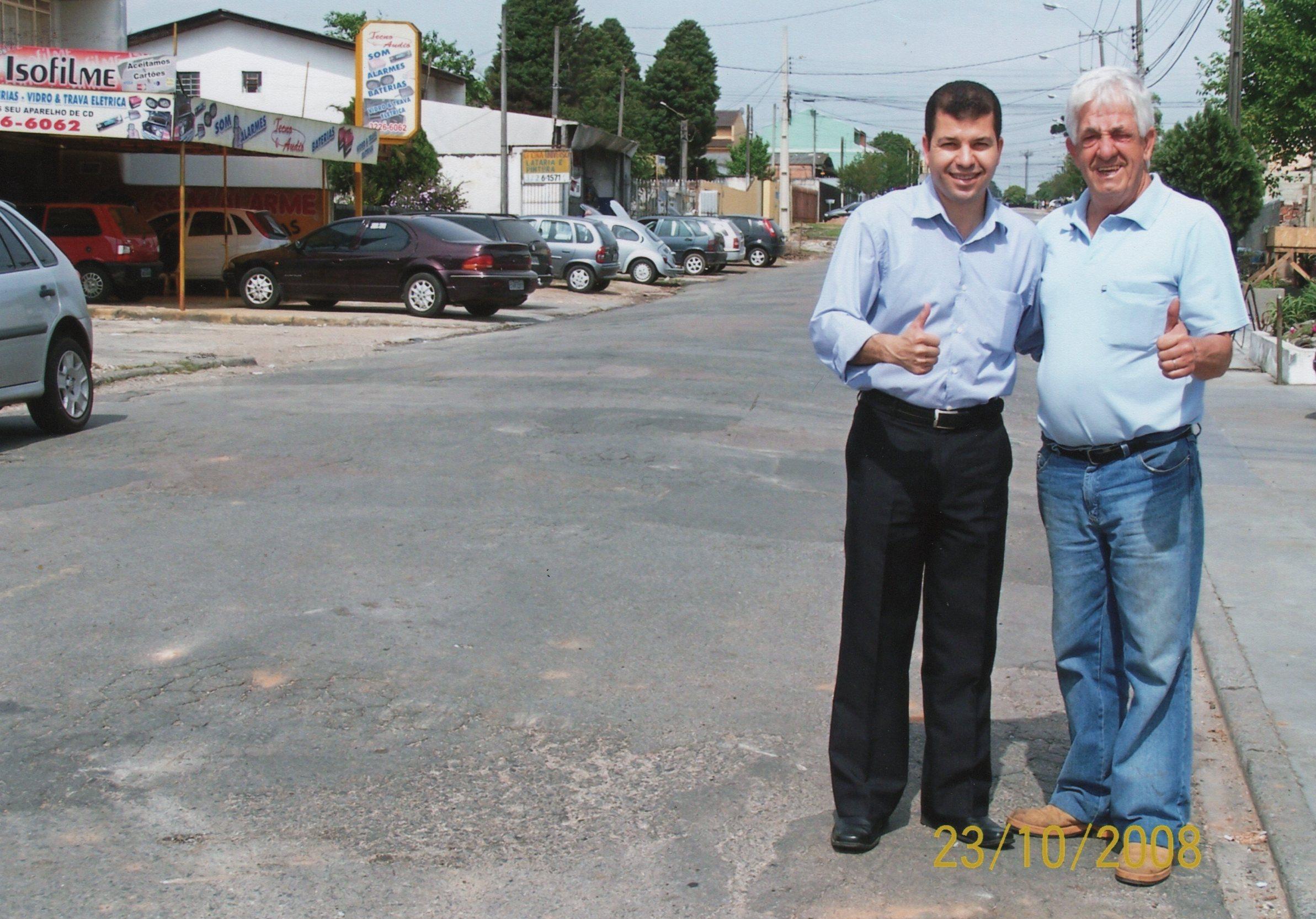 Rua Amador Bueno - ANTES