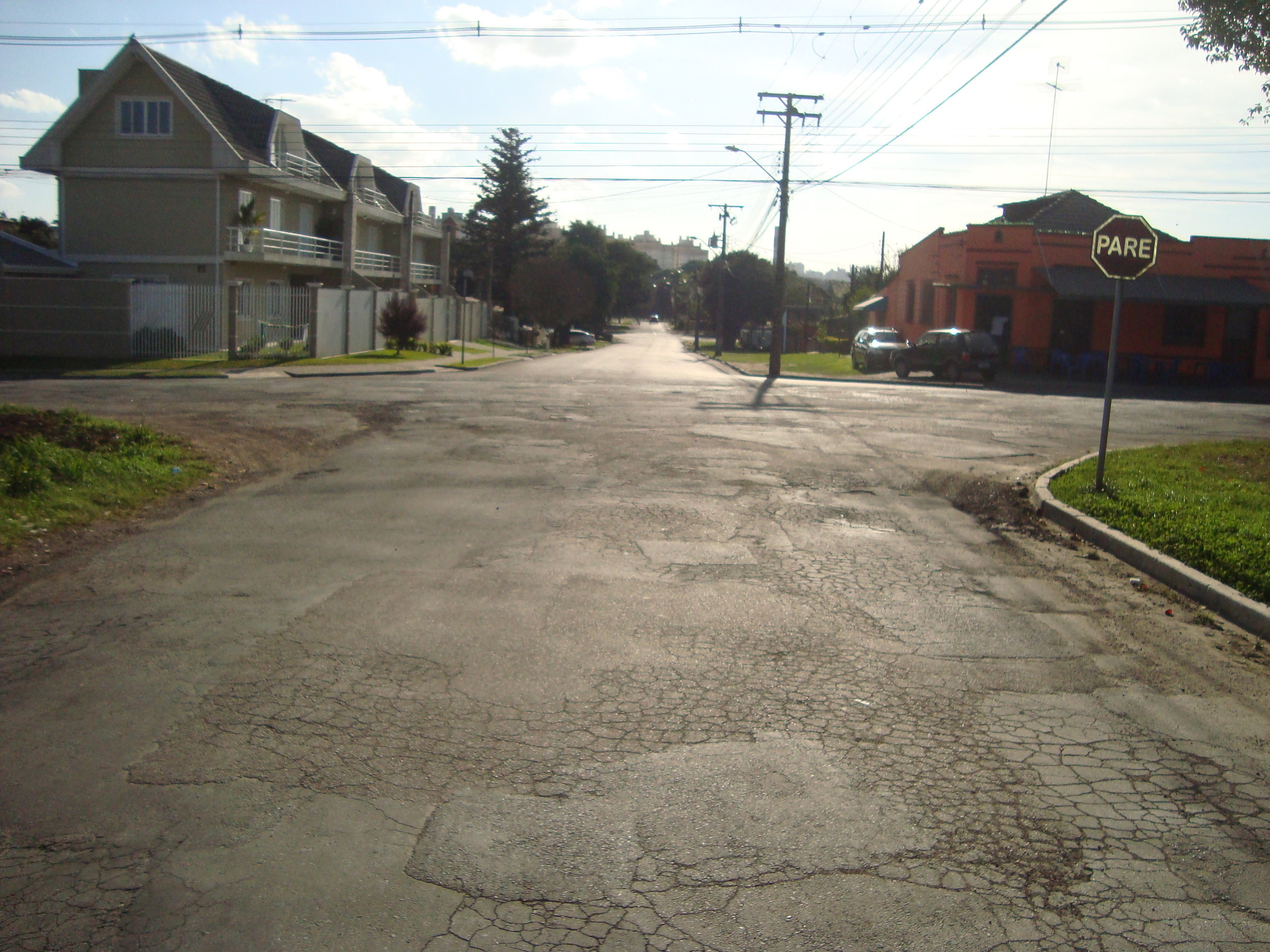 Rua Cel Izaltino Pinho - ANTES