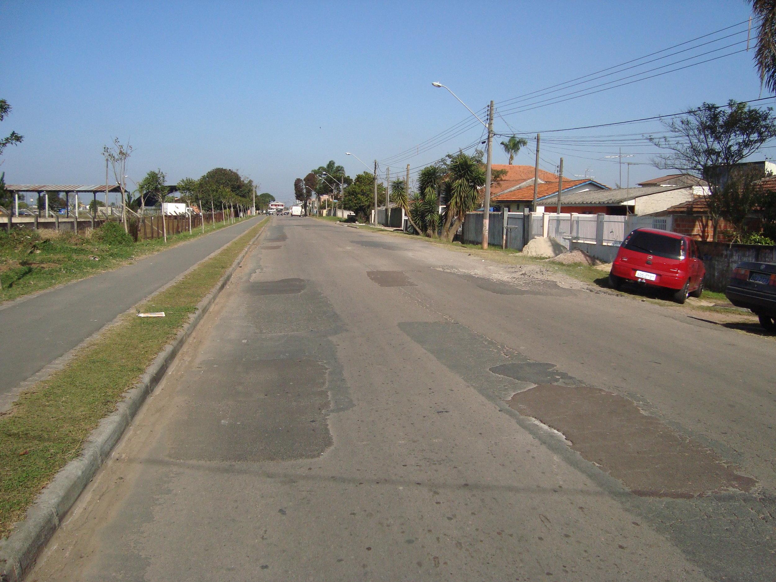 Rua Antônio Moreira Lopes - ANTES