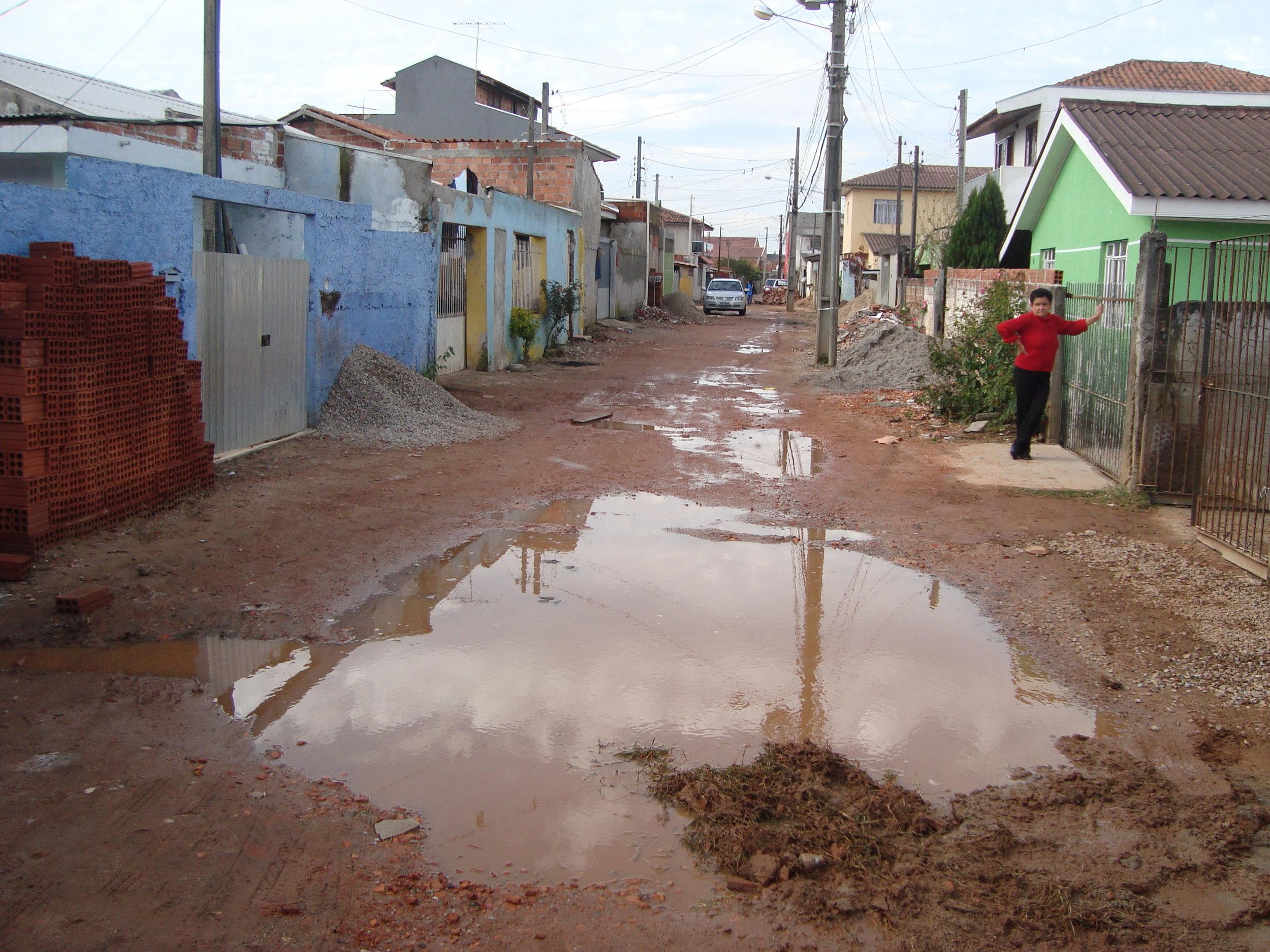 Rua Jornalista Luiz Carlos Cavalcante, São JOão Del'Rey - ANTES