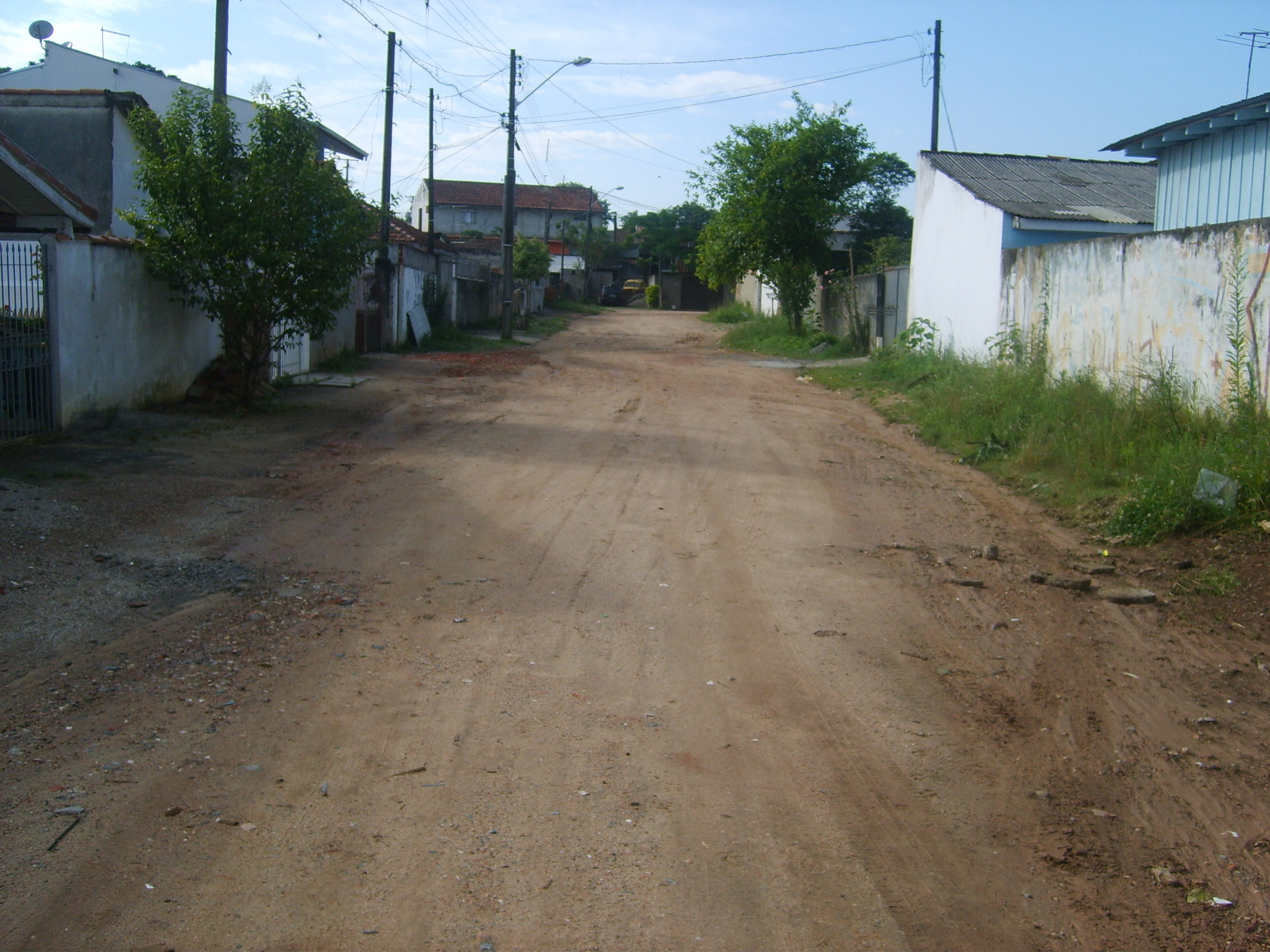 Rua Manacá - ANTES