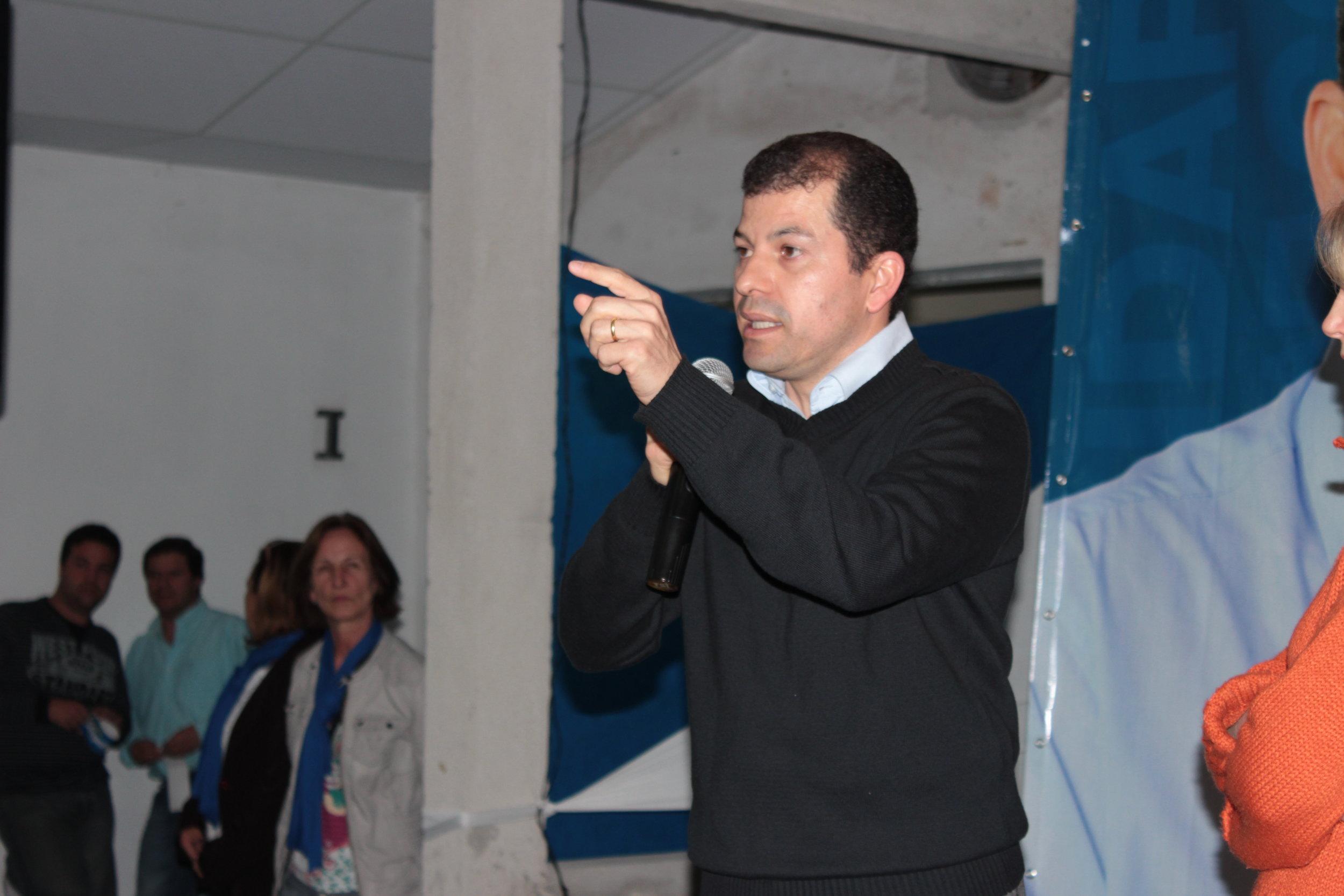 Lancamento Candidatura Serginho 2012 - Salao Rosario de Belem (105).JPG