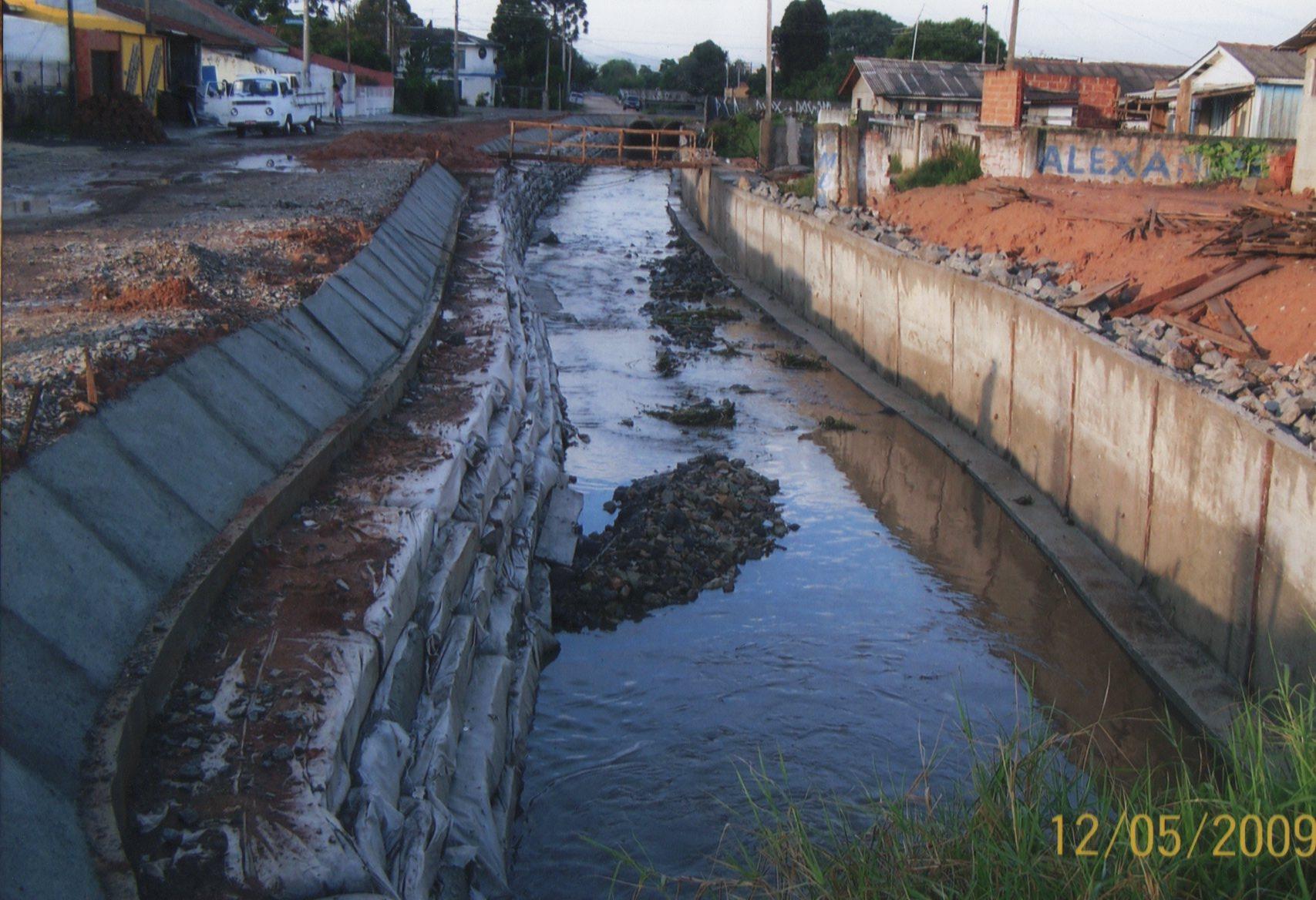 Córrego Teófilo Otoni - 2007/2008 - DEPOIS