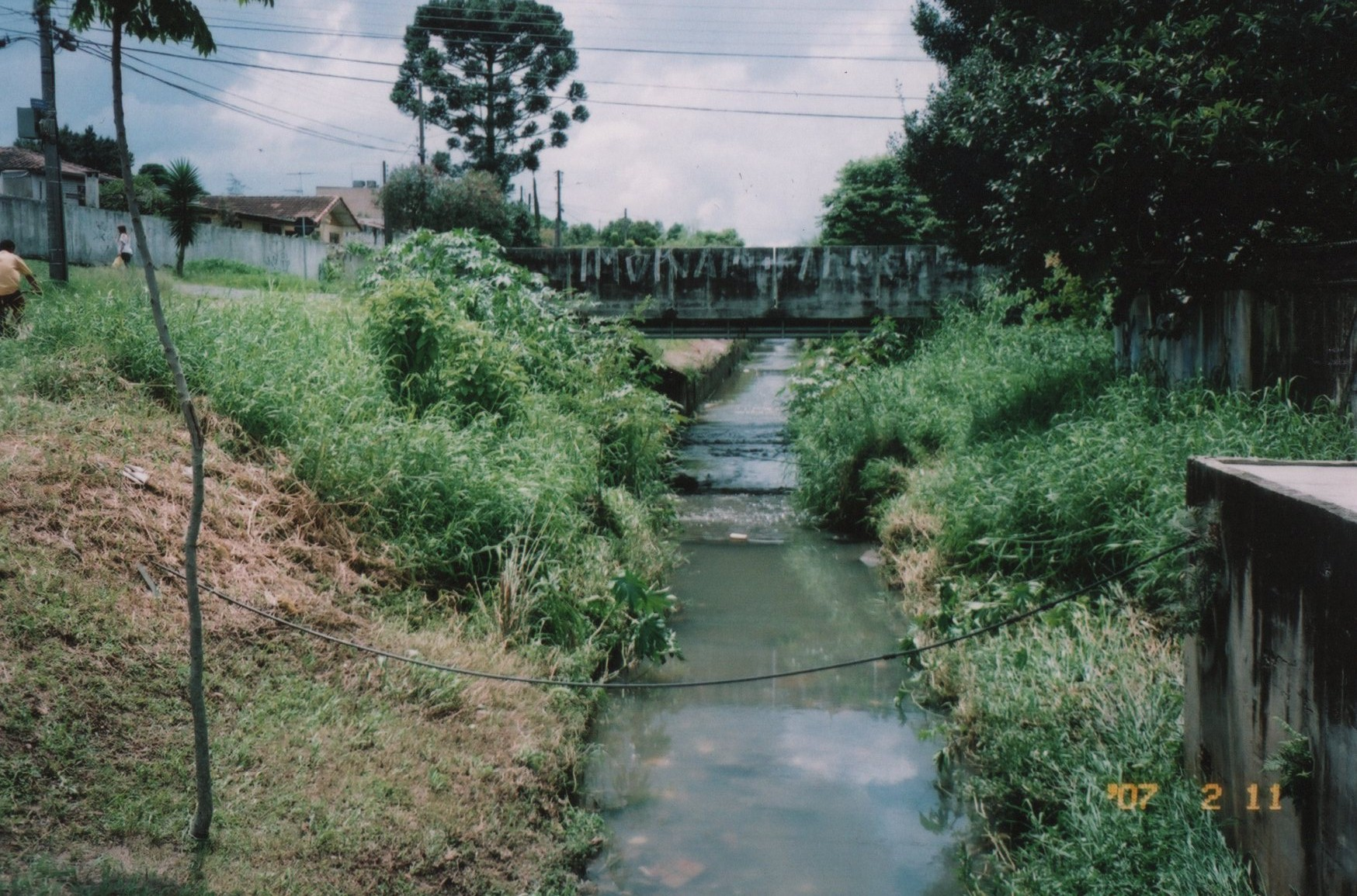 Córrego Teófilo Otoni - ANTES
