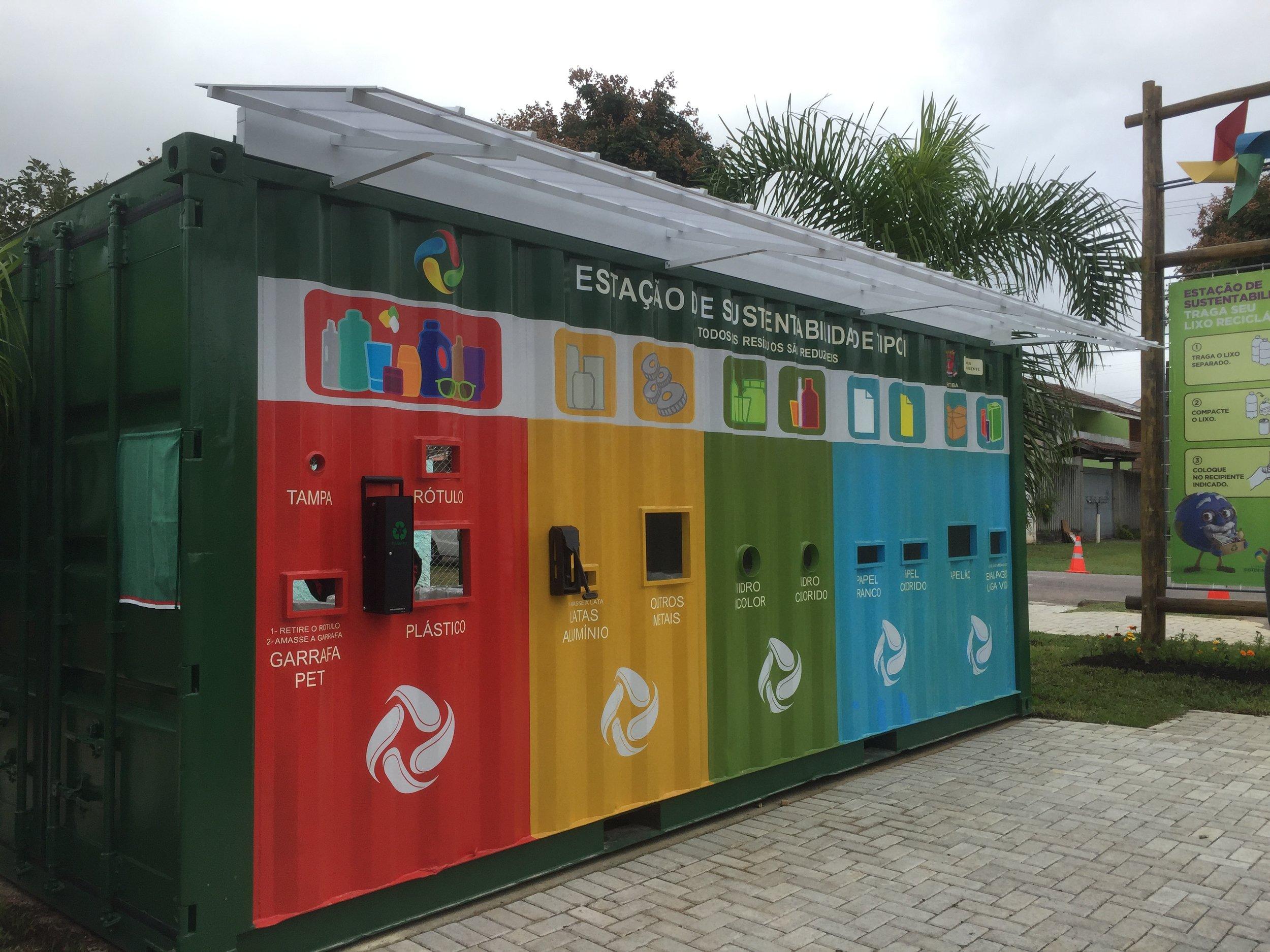 Estação de sustentabilidade na Av. Florianópolis - 2016